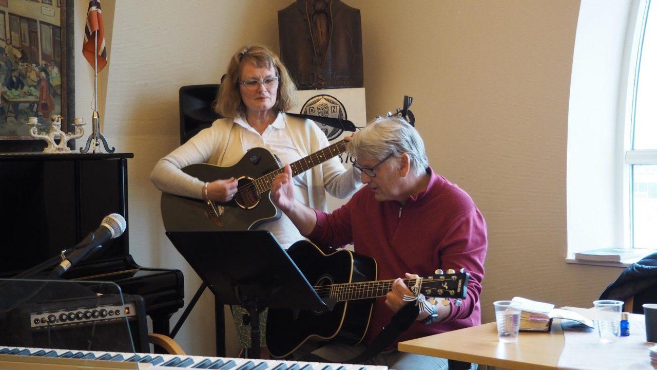 Rolf og Gladys sang også på Jesus fest. Bilde 9. mai 2020.