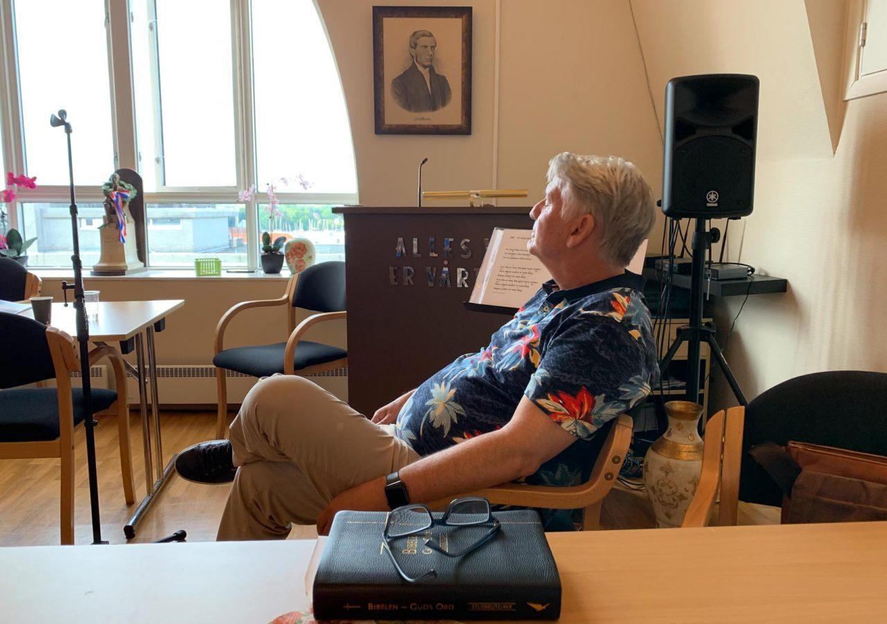 Jesus fest 14. juni 2020. Rolf Aarstad er klar til å tale med fokus på det profetiske.