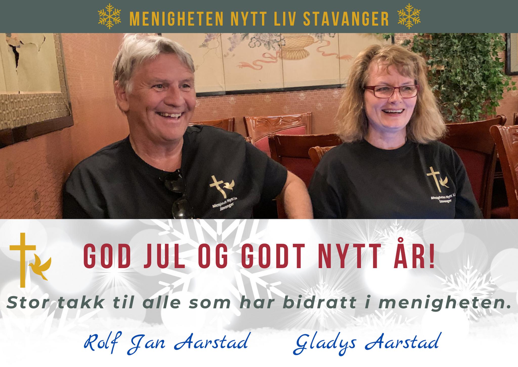 Julekort Menigheten Nytt Kiv Stavanger